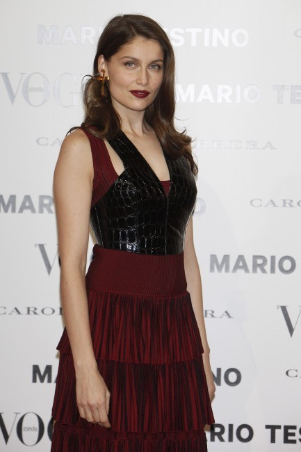 Laetitia Casta le 27 novembre 2012 à Madrid