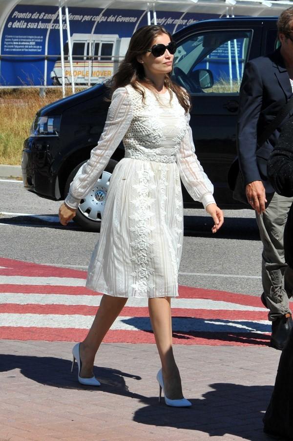 Laetitia Casta à Venise le 28 août 2012