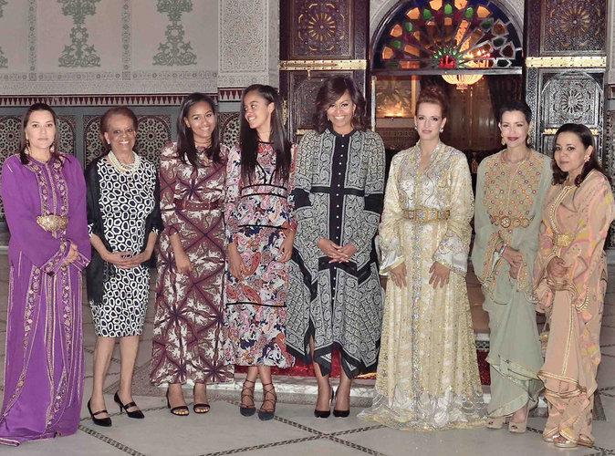 Photos : Lalla Salma du Maroc et Michelle Obama : unies pour l'éducation des filles !