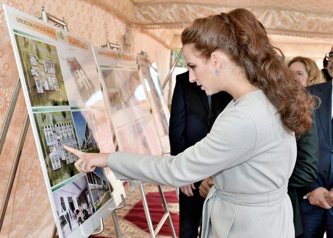 Photos : Lalla Salma du Maroc : Princesse toujours aussi engagée dans la lutte contre le cancer...