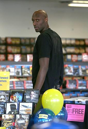 Lamar Odom à Los Angeles le 31 août 2013