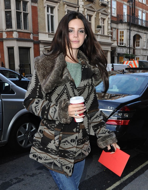 Lana Del Rey à Londres le 13 novembre 2012