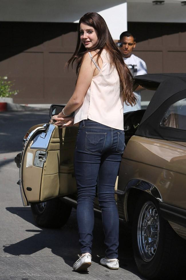 Lana Del Rey le 11 juillet 2012 à Los Angeles