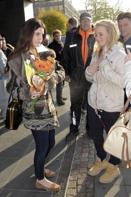 Lana Del Rey le 18 novembre 2012 à Cologne