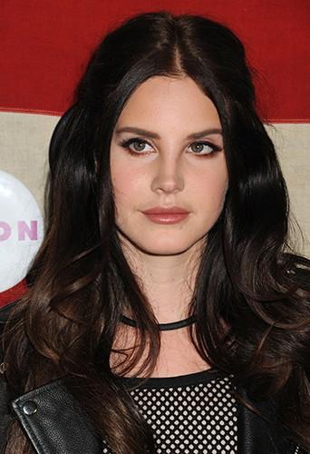 Lana Del Rey à Los Angeles le 1er novembre 2013
