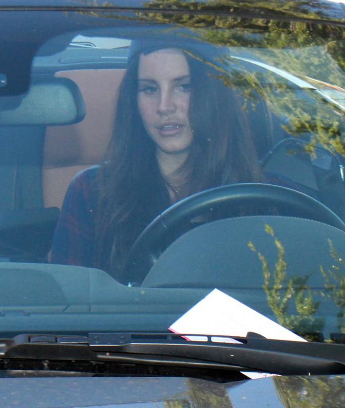 Photos : Lana Del Rey : la chanteuse a voulu se la jouer rebelle... et se paye une jolie contravention !
