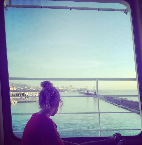 En route vers la Corse avec Manon
