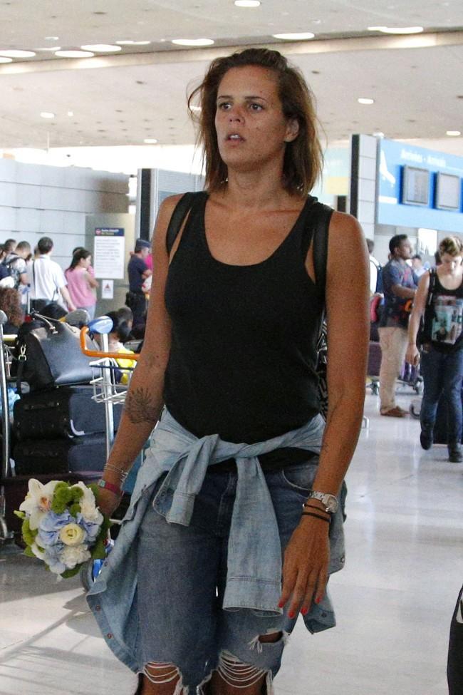 Laure Manaudou à Paris le 10 août 2015