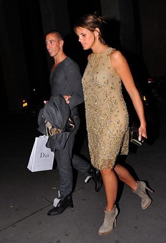 Au début de sa relation avec Frédérick Bousquet en 2009.