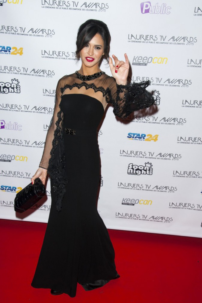 Photos : Lauriers TV Awards 2015 : Leila Ben Khalifa : absolument captivante en Zuhair Murad, sacrée comme son homme !