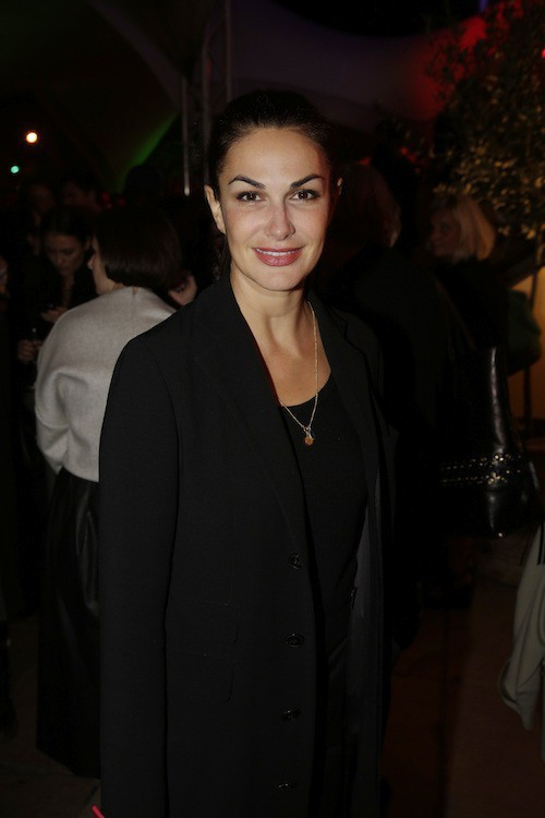 Helena Noguerra à la soirée Make Up For Ever à Paris, le 24 septembre 2014