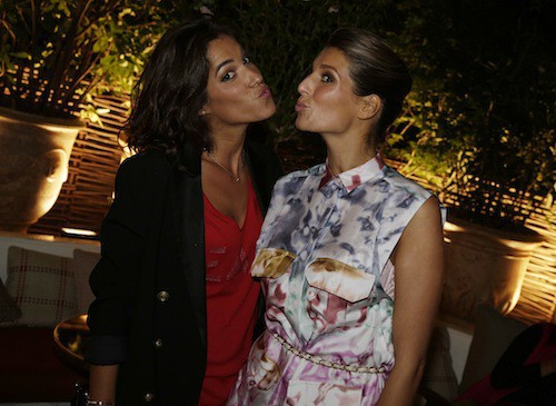 Laury Thilleman et Laurie Cholewa à la soirée Make Up For Ever, le 24 septembre 2014 !