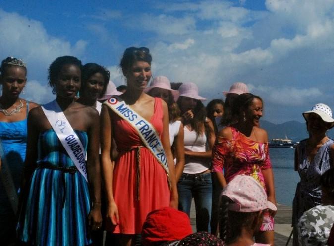Miss France 2011 s'est éclatée en Guadeloupe !