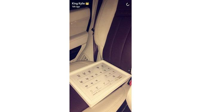 Photos : le cadeau chelou de Kris Jenner à sa fille Kylie !