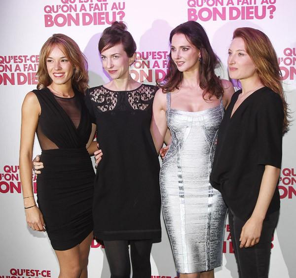 Elodie Fontan, Emilie Caen, Frédérique Bel et Julia Piaton