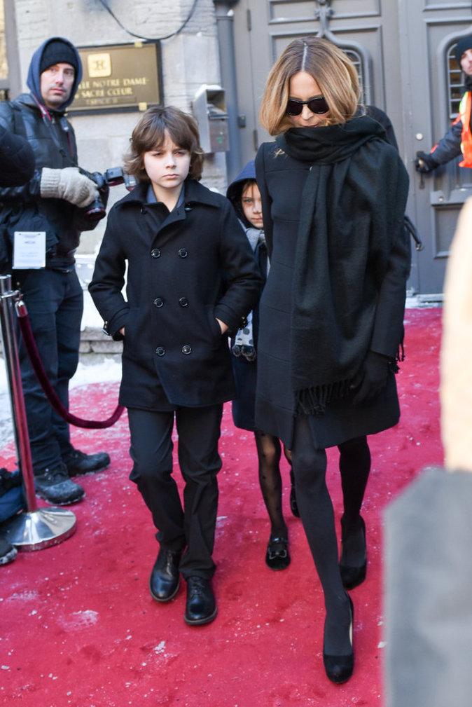 Photos : Le clan de Céline Dion se réunit pour les obsèques de René Angélil