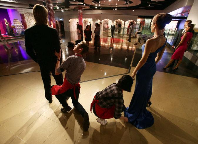 Photos : Le musée Madame Tussauds a déjà séparé les statues de cire de Brad Pitt et Angelina Jolie !