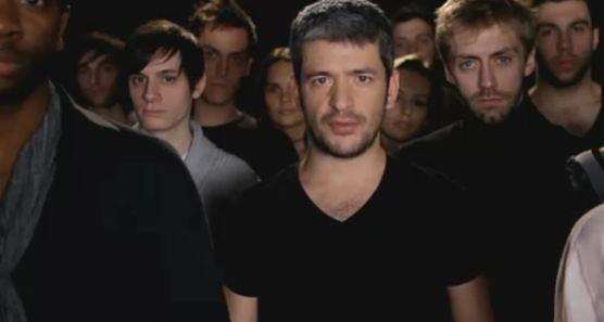 Gregoire dans le nouveau clip des Enfoirés