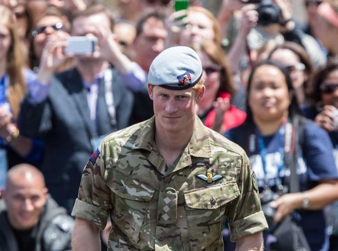 Le Prince Harry pendant les Warrior Games 2013