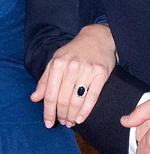 La bague de fiançailles de Diana désormais au doigt de Kate Middleton