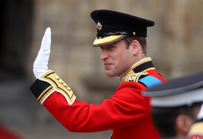 Le Prince William arrive à l'Abbaye de Westminster, le 29 avril 2011.