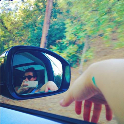"""Photos : Lea Michele : """"Aimer et être aimée""""… Sa déclaration d'amour à Matthew Paetz !"""