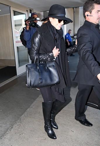 Lea Michele à Los Angeles le 4 décembre 2013