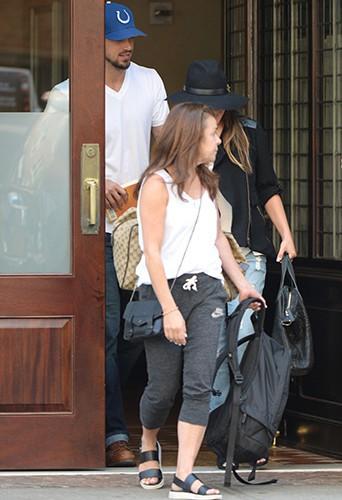 Lea Michele et Matthew Paetz à New York le 15 juillet 2014