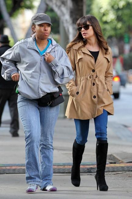 Lea Michele le 18 décembre 2012 à Los Angeles