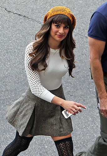 Lea Michele à Los Angeles le 15 novembre 2013