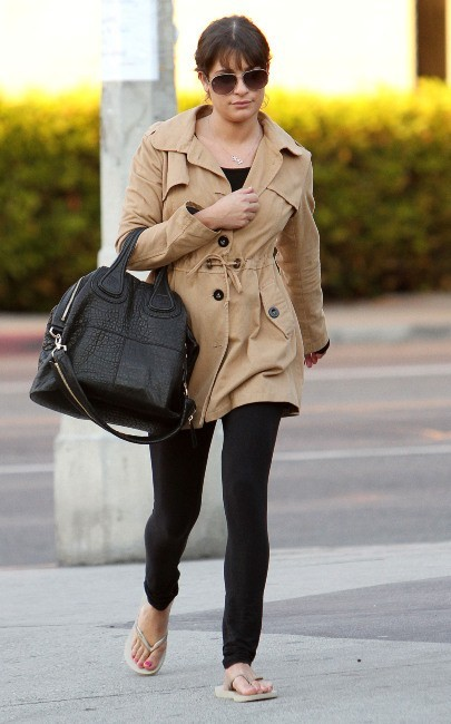 Lea Michele le 16 janvier 2013 à Los Angeles