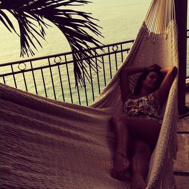 Lea Michele au Mexique avec ses copines !