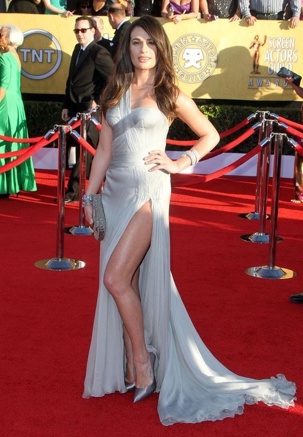 Lea Michele sur le tapis rouge des Screen Actors Guild Awards !