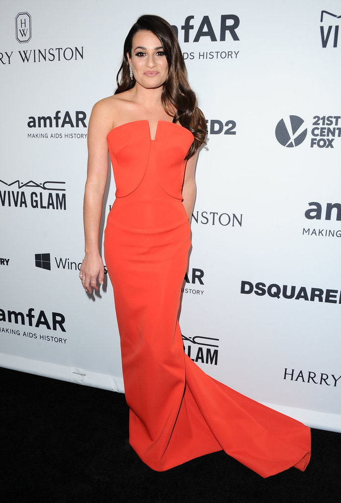 Photos : Lea Michele, Emma Roberts, Zendaya... que de beautés au gala de l'amfAR !