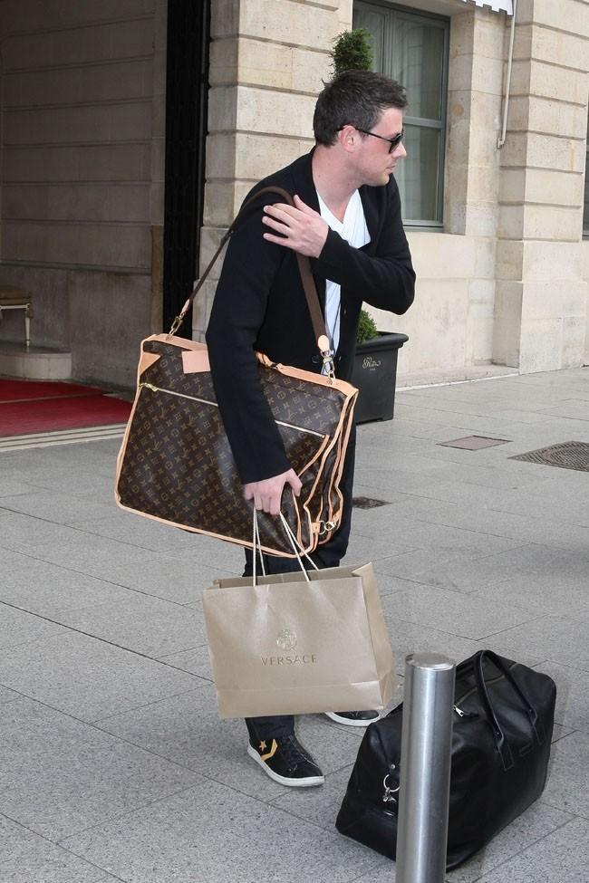 Cory Monteith le 3 juillet 2012 à Paris