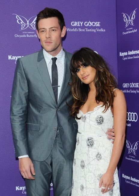 Cory Monteith et Lea Michele : leur premier tapis rouge depuis que l'acteur est sorti de rehab !
