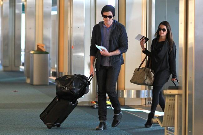 Lea Michele et Cory Monteith le 18 mars 2013 à Vancouver