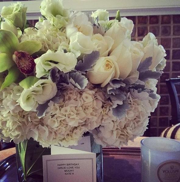 Des jolies fleurs...