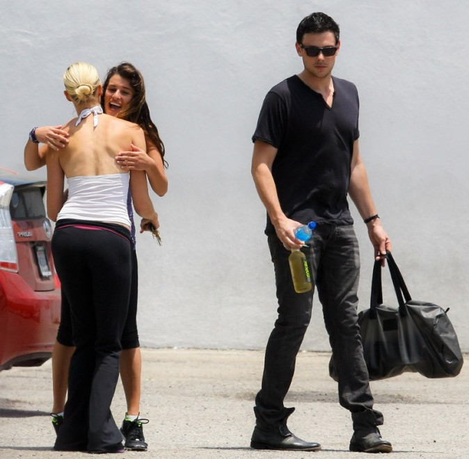 Lea Michele et Cory Monteith vont à la gym !
