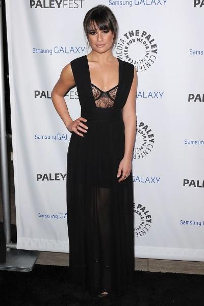 Lea Michele lors de la soirée Inaugural PaleyFest Icon Award à Los Angeles, le 27 février 2013.