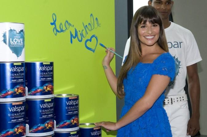 Lea Michele le 20 juillet 2012 à New York