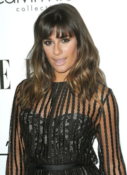 """Lea Michele lors de la soirée """"Elle Women in Hollywood"""" à Beverly Hills, le 15 octobre 2012."""