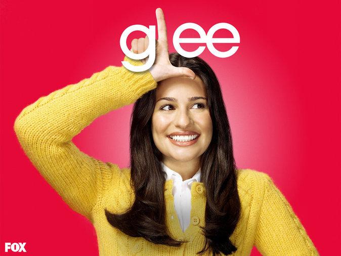 Lea Michele dans Glee