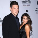 Cory Monteith et Lea Michele à la première de American Horror Story : Asylum à Los Angeles le 13 octobre 2012