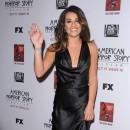 Lea Michele à la première de American Horror Story : Asylum à Los Angeles le 13 octobre 2012