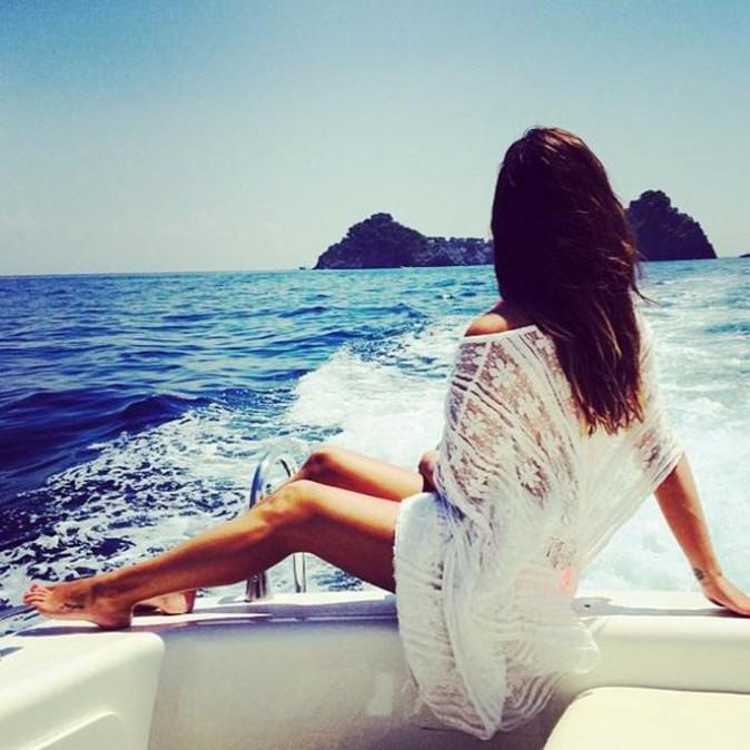 Lea Michele : quelle jolie vue à Capri... Sur son fessier !