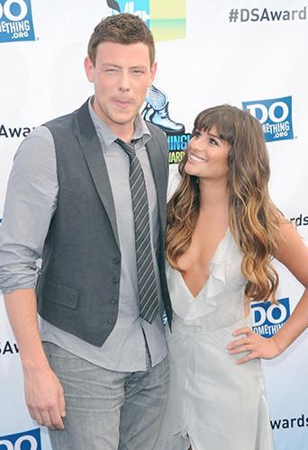 Cory Monteith et Lea Michele, amoureux sur le red carpet en août 2012