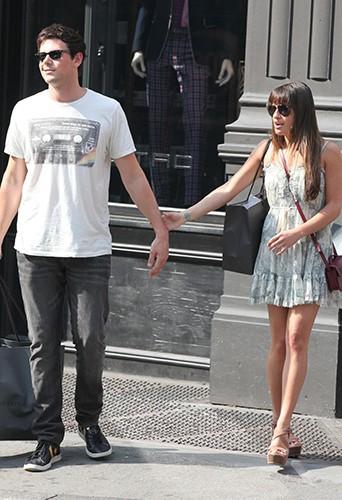 Cory Monteith et Lea Michele officialisent leur relation en mai 2012