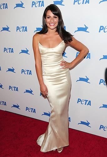 Lea Michele, une ambassadrice de charme pour la PETA