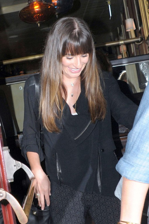 Lea Michele à Los Angeles le 30 septembre 2013